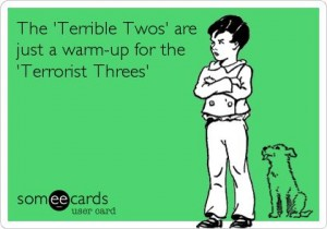 terrible threes